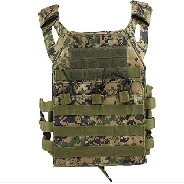 BGJ Airsoft Tactical Vest 1 Hunting Body Armor Plate Carrier Tactical Vest Fashion Outdoor CS Game Paintball Airsoft Vest Military Gear Equipment SAA0095