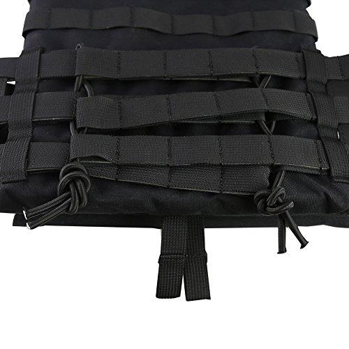 DETECH Airsoft Tactical Vest 6 DETECH Tactical JPC MOLLE Vest Military Wargame Chest Rig Hunting Vest Airsoft CS Protective Vest