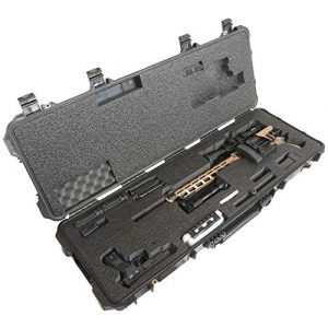 Case Club Rifle Case 1 Case Club Case Fits Ruger Precision Rifle. Pre-Cut, Waterproof, with Accessory Box and Silica Gel to Help Prevent Gun Rust