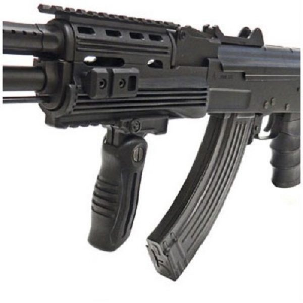 SRC Airsoft Rifle 5 src ak47 tac gen ii air soft rifle electric full auto aeg airsoft gun black(Airsoft Gun)