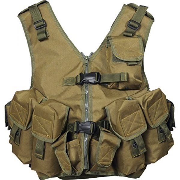"""Azimut SS Airsoft Tactical Vest 2 Russian Military Combat Vest """"The Rock"""" by Azimut SS"""