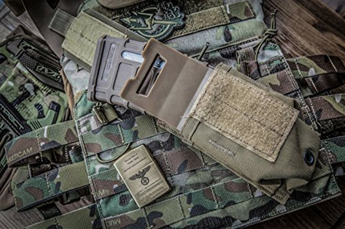 TMC  5 TMC Nylon Magazine Pouch Insert Set (CB) for Tactical Airsoft Hunting Game
