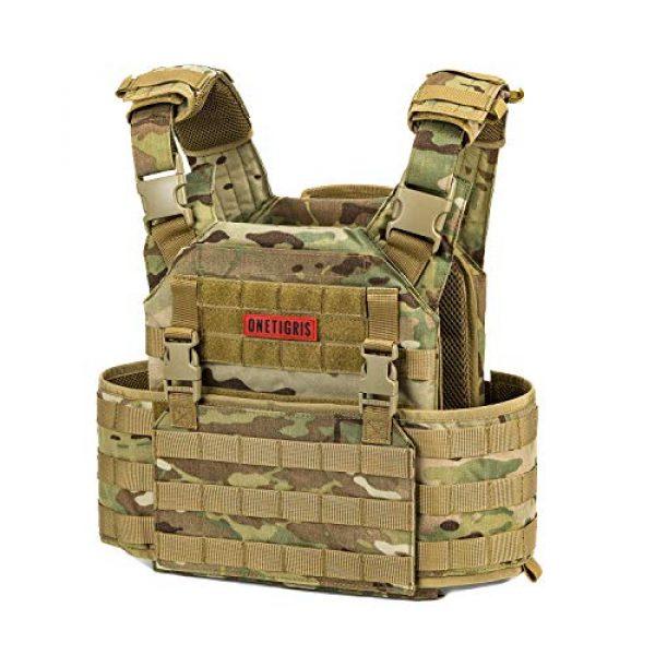 OneTigris Airsoft Tactical Vest 2 OneTigris Multicam Airsoft Vest & Low Profile Tactical Vest