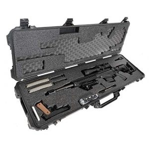 Case Club Rifle Case 1 Case Club Precision Rifle Pre-Cut Waterproof Case with Accessory Box & Silica Gel to Help Prevent Gun Rust (Gen 2)