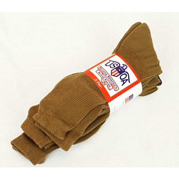 USOA Combat Boot Sock 2 GI MILITARY SURPLUS BOOT SOCK Coyote 3 PAIR