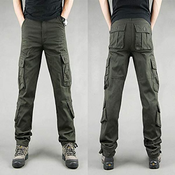 Generic Tactical Pant 2 Men's Hard Wearing Cargo Combat Builders Warehouse Workwear Trouser Pocket