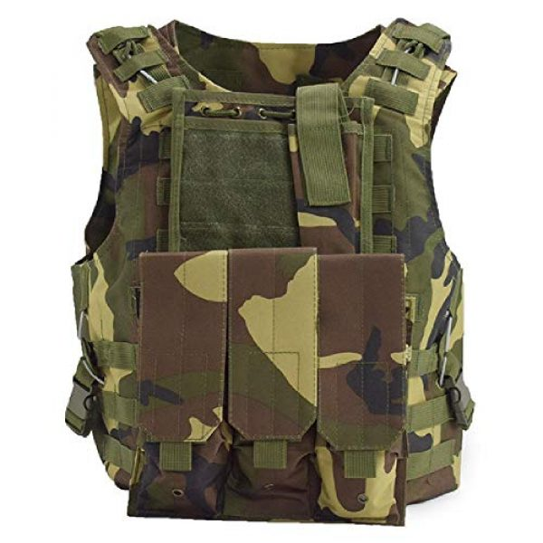 BGJ Airsoft Tactical Vest 1 Tactical Plate Carrier Hunting Vest Military Vest Airsoft Gear Body Armor Army Tactical Vests Military Hunting Accessoris