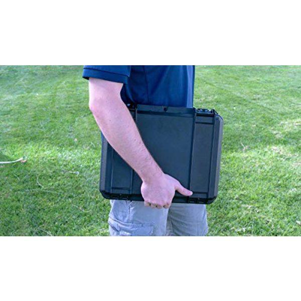 Case Club Pistol Case 5 Case Club MAC-10 Pre-Cut Waterproof Case with Silica Gel to Help Prevent Gun Rust