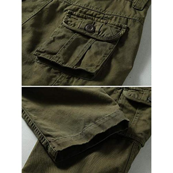 TRGPSG Tactical Pant 5 Men's Outdoor Hiking Pants Multi-Pocket Military Tactical Work Cargo Pants Casual Relaxed Fit Trousers