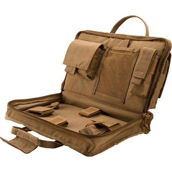 BARSKA Pistol Case 4 BARSKA Loaded Gear RX-50 Tactical Pistol Bag, 16-Inch