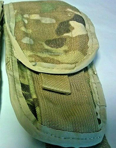 MILITARY  1 MILITARY Multicam Molle II Two Mag Pouch Rare
