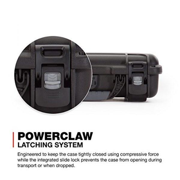 Nanuk Pistol Case 4 Nanuk 909 2UP Waterproof Hard Case w/Custom Foam Insert for Glock Pistols