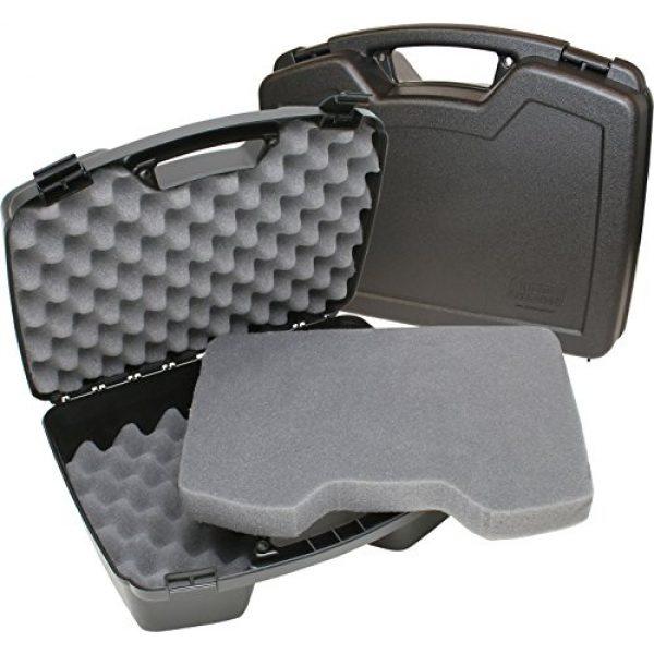 MTM Pistol Case 4 MTM Case-Gard Four Pistol Handgun Case, Black