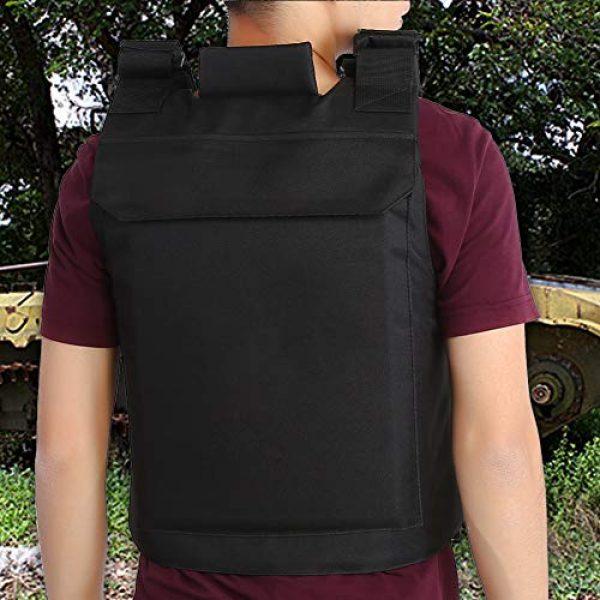 Alomejor Airsoft Tactical Vest 6 1Pc Vest Wear-Resistant Adjustable Vest Guard Waistcoat CS Field Training Protective Vest Campus Accessory