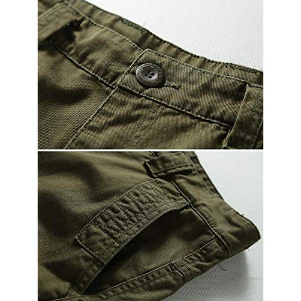 TRGPSG Tactical Pant 3 Men's Outdoor Hiking Pants Multi-Pocket Military Tactical Work Cargo Pants Casual Relaxed Fit Trousers