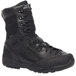 "Belleville Tactical Research TR Combat Boot 1 Belleville Tactical Research TR QRF Alpha B9WP 9"" Waterproof Boot - Black"
