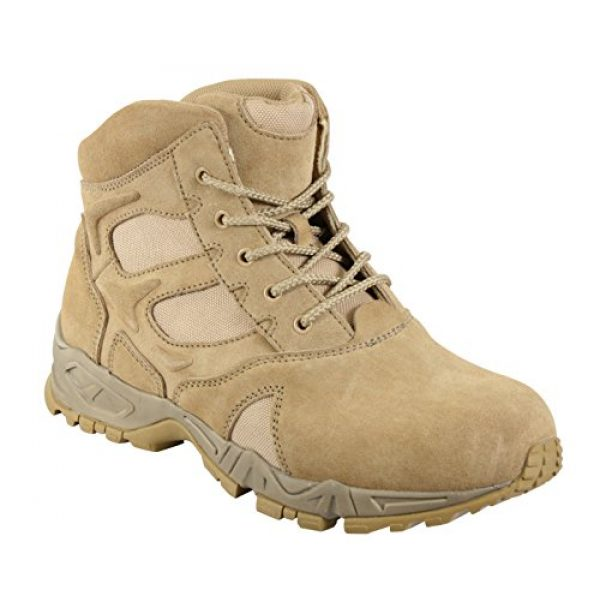 Rothco Combat Boot 1 6'' Forced Entry Desert Tan Boot
