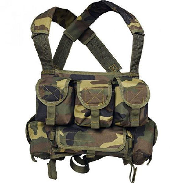 """Azimut SS Airsoft Tactical Vest 1 Russian Military SVD Dragunov Chestrig Vest """"Chameleon"""" by Azimut SS"""