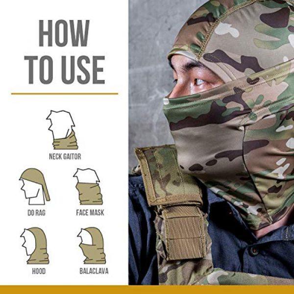 OneTigris Airsoft Tactical Vest 7 OneTigris Multicam Chest RIG & Tactical Hood & Half Face Mask