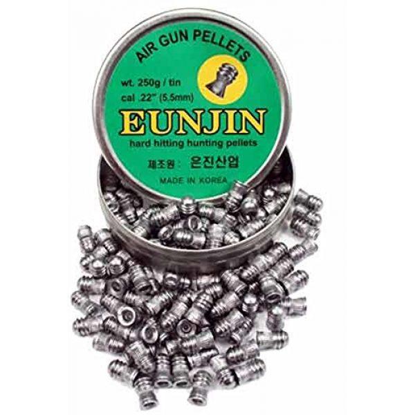 Eun Jin Air Gun Pellet 2 Eun Jin .22 Cal, 28.4 Grains, Domed, 125ct