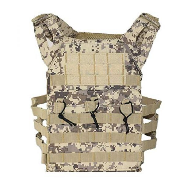 BGJ Airsoft Tactical Vest 2 Hunting Tactical Body Armor JPC Plate Carrier Vest Ammo Magazine Chest Rig Airsoft Paintball Gear Loading Bear Vests