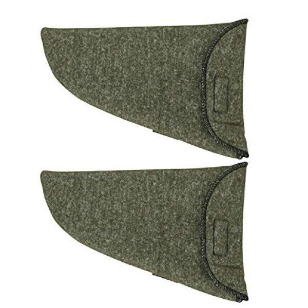 "TOURBON Pistol Case 1 TOURBON 2 Pieces Tactical Gun Sleeve Pistol Sock 10"" Handgun Storage Case"