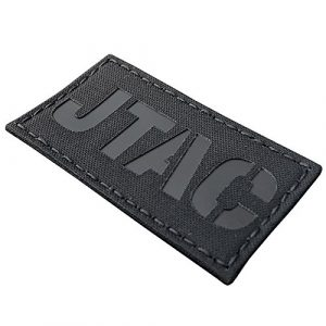 Tactical Freaky  1 Blackout JTAC Joint Terminal Attack Controller Air Support FAC Infrared IR 3.5x2 Tactical Morale Touch Fastener Patch
