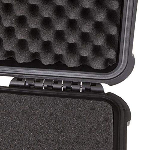 Flambeau Outdoors Pistol Case 5 Flambeau Outdoors 1410HD HD Series Marine Case - Medium, Weatherproof Portable Firearm Storage Accessory