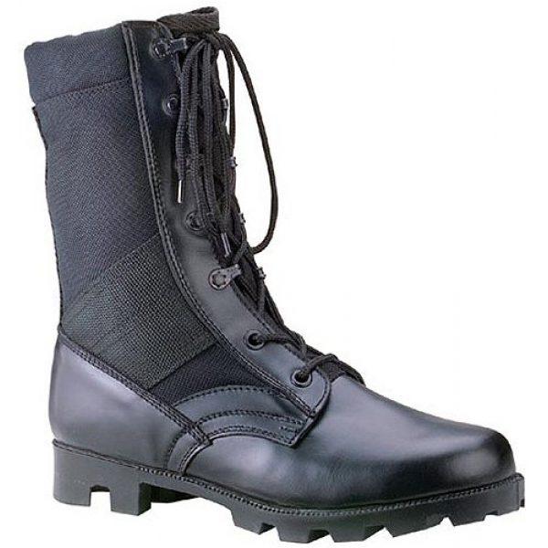 Rothco Combat Boot 1 G.I. Type Black Cordura Nylon Speedlace Jungle Boot, Black