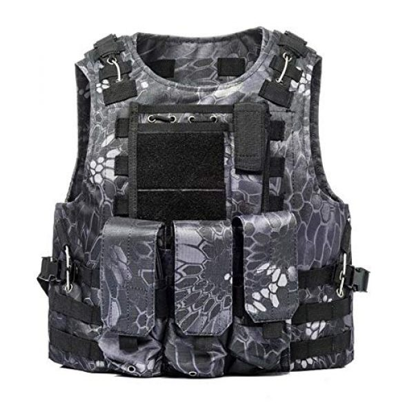 BGJ Airsoft Tactical Vest 4 BGJ Tactical Vest Airsoft Military Tactical Vest Molle Combat Attack Onboard Tactical Vest CS Outdoor Clothing Hunter Tactical Vest