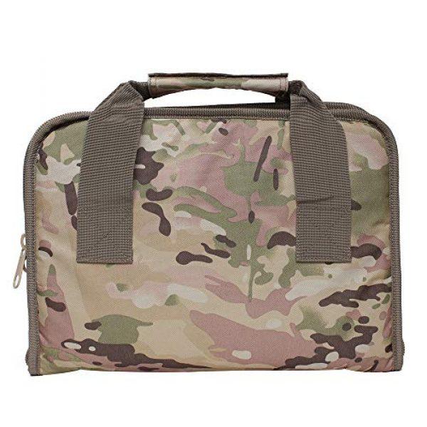 Waxaya Pistol Case 6 Waxaya Tactical Double Pistol Case Soft Range Bags for Handguns