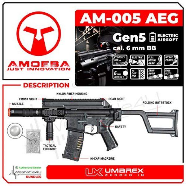 Wearable4U Airsoft Rifle 2 Umarex Elite Force Amoeba AM-005 AEG Electric Automatic 6mm BB Rifle Airsoft Gun (Gen5) with Wearable4U Bundle
