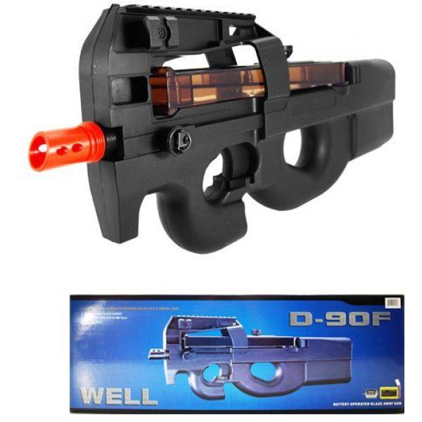 Well Airsoft Rifle 1 Well d90f aeg auto electric sub machine gun airsoft p90 assault rifle(Airsoft Gun)