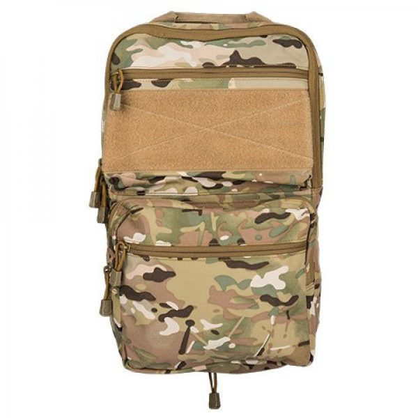 Lancer Tactical Airsoft Tactical Vest 5 Lancer Tactical 1000D Nylon QD Chest Rig and Backpack Combo (CAMO)