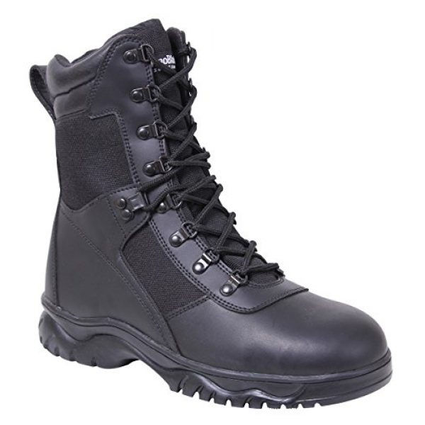 Rothco Combat Boot 2 Insulated 8 Inch Side Zip Tactical Boot