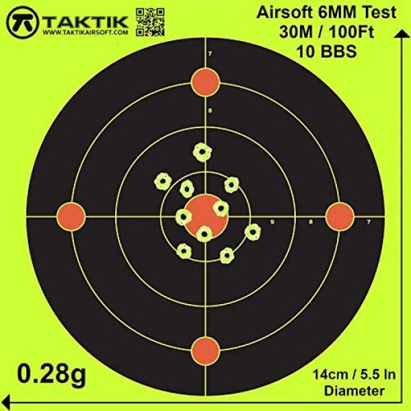 Taktik Airsoft BB 5 Airsoft bbs Bio Biodegradable 0.28g 3000 rounds bottle 6mm bb