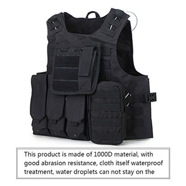 Zhuhaitf Airsoft Tactical Vest 3 Zhuhaitf Hunting Tactical Airsoft Oxford Molle Vest Tactical Gear Adjustable Vest