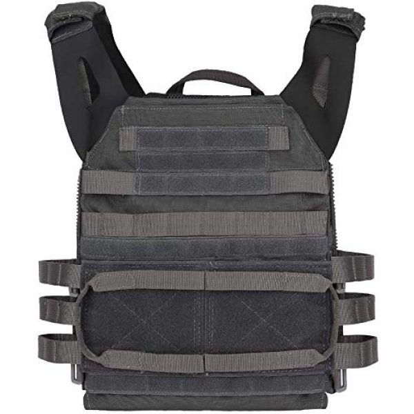 LEJIE Airsoft Tactical Vest 4 Tactical JPC MOLLE Protective Vest with Removable Large Capacity Backpack for Airsoft Paintball Hunting