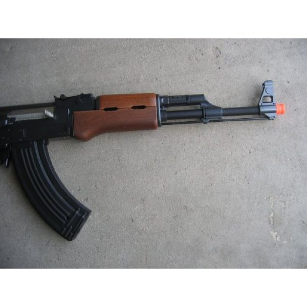 Double Eagle Airsoft Rifle 3 Double Eagle AK-47S Metal Electric 425 FPS Airsoft Assault Rifle Gun