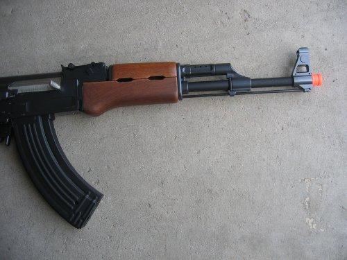 Double Eagle  3 Double Eagle AK-47S Metal Electric 425 FPS Airsoft Assault Rifle Gun