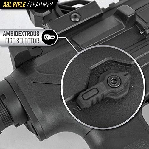 Valken Airsoft Rifle 3 Valken ASL Hi-Velocity M4 Airsoft Rifle AEG 6mm Rifle (Tango)