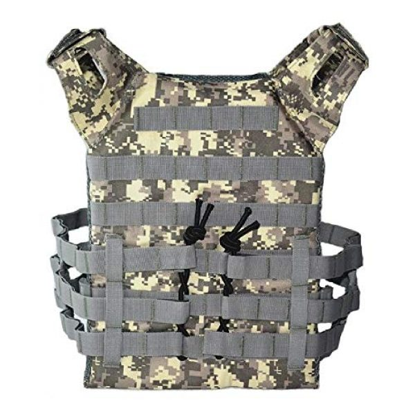 BGJ Airsoft Tactical Vest 1 Hunting Tactical Body Armor JPC Plate Carrier Vest Ammo Magazine Chest Rig Airsoft Paintball Gear Loading Bear Vests