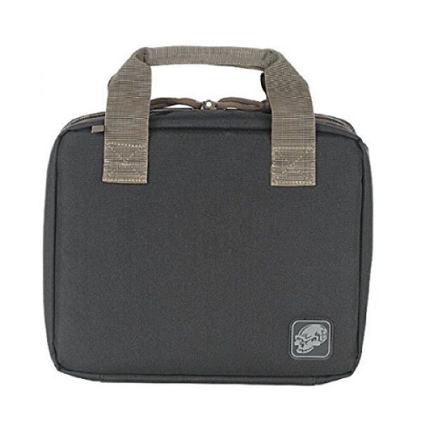VooDoo Tactical Pistol Case 1 VooDoo Tactical 40-9100014000 Discreet Pistol Case, Slate Gray, One Size