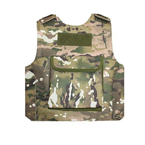 BGJ Airsoft Tactical Vest 7 BGJ Military Kids Camouflage Hunting Clothes CS Combat Equipment Tactical Army Vest Children Cosplay Costume Airsoft Sniper Uniform