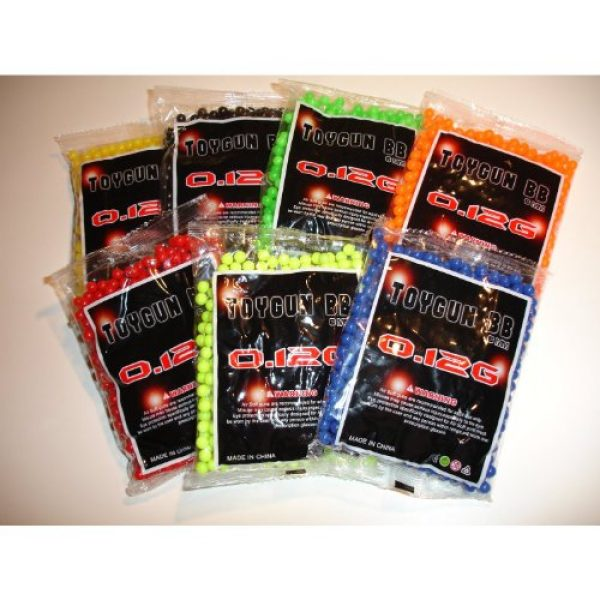 Airsoft Airsoft BB 1 AirSoft 6mm .11 BB Approx. 1000 Round per Bag
