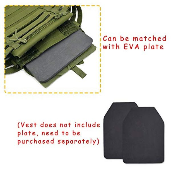 BGJ Airsoft Tactical Vest 5 BGJ Tactical JPC Vest Molle Plate Carrier Military Vest Airsoft Paintball CS Game Hunting Outdoor Protective Equipment