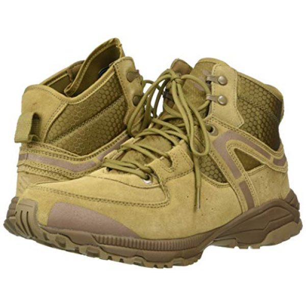 "BLACKHAWK Combat Boot 6 BLACKHAWK! BT06CY100M 6"" Trident Ultralite Boot Coyote 498 10/Medium 16037"