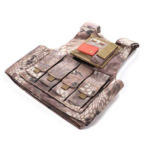 "Nuxn Airsoft Tactical Vest 1 Nuxn Kids Tactical Vest Black Lightweight Children Field Combat Training Protective Vest Adjustable Shooting Hunting Molle Clothes'""Children Camo Vest Jacket Waistcoat Camouflage Vest"