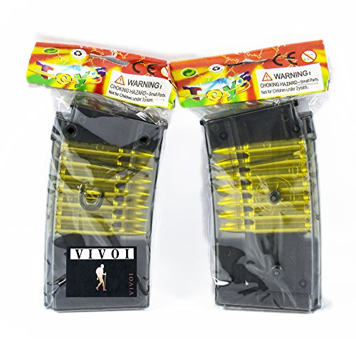 Vivoi  1 VIVOI Pack of 2 Magazine Clip for Airsoft Gun