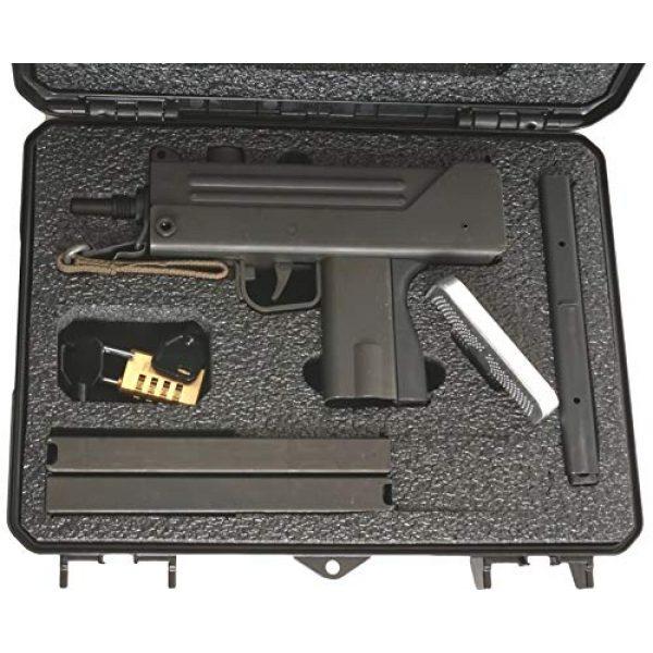 Case Club Pistol Case 2 Case Club MAC-10 Pre-Cut Waterproof Case with Silica Gel to Help Prevent Gun Rust